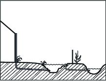 Stap 6 Regenwatervijver